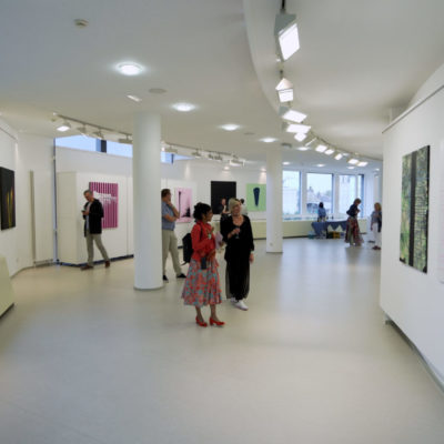 """D'Ausstellung """"BETA"""" vum Sarah Mandres"""