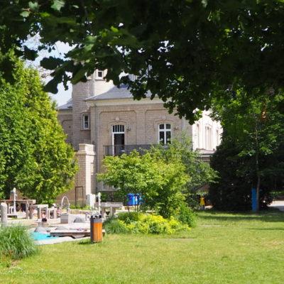 Esch im Sommer – Parc Laval